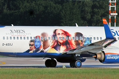 Boeing 737-86N(WL) - D-ASXJ - HAJ - 01.06.2019(4) (Matthias Schichta) Tags: haj hannover hannoverlangenhagen eddv sunexpress b737800 planespotting boeing dasxj xmen flugzeugbilder flugzeug