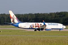 Boeing 737-86N(WL) - D-ASXJ - HAJ - 01.06.2019(3) (Matthias Schichta) Tags: haj hannover hannoverlangenhagen eddv sunexpress b737800 planespotting boeing dasxj xmen flugzeugbilder flugzeug