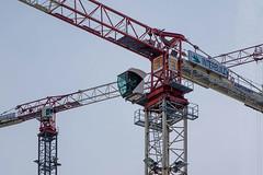Nieuw-Zuid_05 (jefvandenhoute) Tags: belgium belgië antwerp antwerpen nieuwzuid light shapes cranes architecture