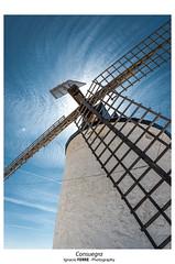 Consuegra (Ignacio Ferre) Tags: consuegra toledo españa spain castillalamancha windmill molino nikon blue azul