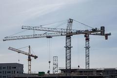 Nieuw-Zuid_01 (jefvandenhoute) Tags: belgium belgië antwerp antwerpen nieuwzuid light shapes cranes architecture