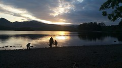Derwent Water (koothenholly) Tags: cumbria derwentwater silhouette lakedistrict catbells