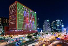 Seoul station (lavignassey) Tags: corée seoul seoulstation southkorea séoul asia city building night nuit traffic