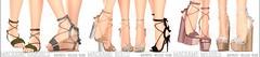 REIGN.- MACRAME COLLECTION! (REIGN♥) Tags: reign teamreign secondlife shoes slink summer sl slevent sandals sale saturdaysale saturday tss thesaturdaysale maitreya mesh belleza body kenadee kenadeecole kenadeereign