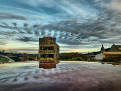 Remiremont (denismartin) Tags: france vosges lorraine abandoned house cloud hdr reflecting reflection denismartin remiremont