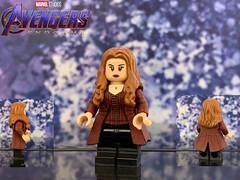 LEGO custom Scarlet Witch from Avengers: Endgame (Benson_Bone) Tags: scarlet witch lego custom minifigure avengers endgame olsen elizabeth maximoff wanda