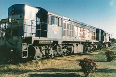 Mt Isa (andrewsurgenor) Tags: train railroad railway rail railfan railways clyde emd diesel locomotive queensland queenslandrailways qr australia