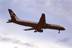 G-BIKW B757 British airways LHR 19-06-93 (cvtperson) Tags: gbikw boeing 757 british airways london heathrow lhr egll