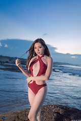 III01218 (HwaCheng Wang 王華政) Tags: 謝立琪 kiki 人像 外拍 比基尼 泳裝 md model portraiture sony a7r3 ilce7rm3 a7r mark3 a9 ilce9 gm bikini swim dress