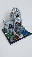 Osgiliath inspired Moc (Grzd) Tags: lego afol moc legomoc tolkien osgiliath middleearth castle lordoftherings