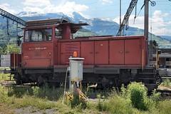 Buchs SBB - Em 3/3 18838 (Kecko) Tags: 2019 kecko switzerland swiss schweiz suisse svizzera ostschweiz rheintal buchs sg railway railroad eisenbahn bahn sbb em988558308389chsbbi em33 18838 1963 rangierlok shunter rangierdienst bahnhof station swissphoto geotagged geo:lat=47167890 geo:lon=9479520