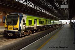 29026 at Connolly, 13/5/19 (hurricanemk1c) Tags: railways railway train trains irish rail irishrail iarnród éireann iarnródéireann 2019 class29000 caf commuter 29026 1317connollymaynooth dublin connolly