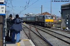 088 arrives at Connolly, 13/5/19 (hurricanemk1c) Tags: railways railway train trains irish rail irishrail iarnród éireann iarnródéireann 2019 generalmotors gm emd 071 088 1457connollywhitehead dublin connolly