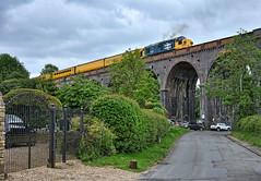 Large Logo Livery (whosoever2) Tags: road uk railroad train nikon britain united great may railway kingdom viaduct gb rutland welland derby inverness rtc harringworth tmd 2019 drs class37 37025 d7100 dollandsmoor 3z03