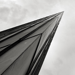 Endless corner (LG_92) Tags: berlin architecture contemporary monochrome blackandwhite blackwhite bw schwarzweiss corner jewish museum 2019 may germany xiaomi mobilepics abstract