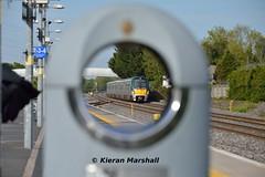 22056+22057 pass Hazelhatch, 14/5/19 (hurricanemk1c) Tags: hazelhatchandcelbridge railways railway train trains irish rail irishrail iarnród éireann iarnródéireann 2019 22000 rotem icr rok 3pce 22056 1730heustongalway