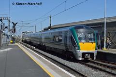 22024 departs Connolly, 13/5/19 (hurricanemk1c) Tags: dublin connolly