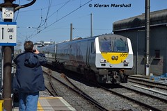 9001 arrives at Connolly, 13/5/19 (hurricanemk1c) Tags: railways railway train trains irish rail irishrail iarnród éireann iarnródéireann 2019 enterprise northernirelandrailways nir dedietrich 9001 1235belfastlanyonplacedublinconnolly dublin connolly