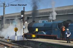 85 at Connolly, 13/5/19 (hurricanemk1c) Tags: railways railway train trains irish rail irishrail iarnród éireann iarnródéireann 2019 rpsi railwaypreservationsocietyofireland gnri greatnorthernrailwayireland 85 merlin dublin connolly 1457connollywhitehead