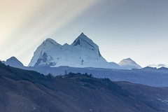 Beauty of mount Huandoy, Callejon de Huaylas, Ancash, Peru