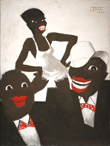 Le Revue nègre de Paul Colin (musée d'Orsay, Paris)