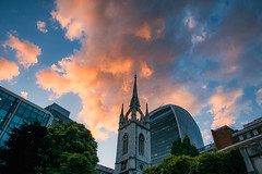 Fire (Мaistora) Tags: light sunset red sky orange church monument skyline clouds skyscape fire cityscape historic greatfireoflondon 1666 leica city uk england london tower stone architecture modern skyscraper portraits garden photography glamour ruins britain outdoor sightseeing landmark location belltower steeple spire business architect belfry movies wren preserved weddings neogothic juxtaposition popular venue iconic remains lattice listed towerhill dlux skygarden towering walkietalkie cityoflondon protected lightroom counterpoint stdunstan squaremile osit luminar typ109 20stdunstanshill wirchristopherwren
