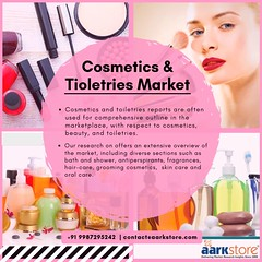 Cosmetics Market Research Report and Industry Analysis  (1) (charanjitaark) Tags: cosmeticsandtoiletriesmarketresearch globalcosmeticsandtoiletriesindustry cosmeticsindustryoverview cosmeticindustrystatistics toiletriesmarketanalysiscosmeticsandtoiletriesindustryresearch