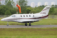 G-FRYL_01 (GH@BHD) Tags: gfryl raytheon r390 premier premier1 bookajet bookajetoperations bhd egac belfastcityairport bizjet corporate executive aircraft aviation