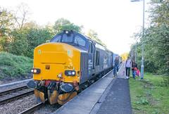 37423 at Haddiscoe with 2J88 1902 Norwich - Lowestoft 11/05/19 (chrisrowe37419) Tags: 37423 haddiscoe 2j88 1902 norwich lowestoft 110519