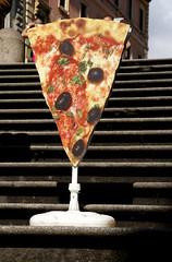 Rom, Werbung braucht keinen Slogan (Advertising can do without a slogan) (HEN-Magonza) Tags: rom rome roma italien italy italia werbung advertising pizza viamagnanapoli