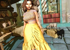 Sun Soaked (Tyrisha Neox (Hidden Agenda)) Tags: tetra zaara stunposes doux absolutevent collabor88