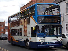 Stagecoach ADL Trident (ADL ALX400) 18391 YN55 ZZF (Alex S. Transport Photography) Tags: bus outdoor road vehicle stagecoach stagecoacheastmidlands route28 alexanderalx400 alx400 dennis trident adltrident adlalx400 18391 yn55zzf
