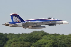 (scobie56) Tags: mcdonnell douglas cf18 hornet rcaf royal canadian air force canada riat 2019 international tattoo fairford 188776 norad