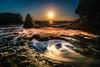 Rocky Sunset I (K.H.Reichert [ ... ]) Tags: dwejra meer sonnenuntergang clouds gozo himmel ocean felsen sunset sky rocks wasser malta bluehole sea coast wolken bucht