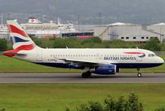 G-EUPB_02 (GH@BHD) Tags: geupb airbus a319 a319100 a319131 ba baw britishairways speedbird shuttle unionflag aircraft aviation airliner bhd egac belfastcityairport