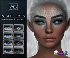 Night Eyes AD (Avi-Glam) Tags: night eyes aviglam sl catwa omega genus mesh fantasy