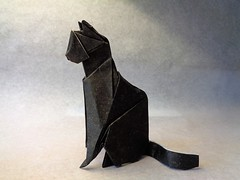 Gato (mrmicawer) Tags: papiroflexia origami papel gato cat felino mascota pet