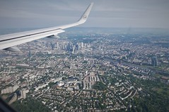 Approaching Frankfurt for a short stopover (roomman) Tags: 2019 landscape nature aereal aerial above from wing winglet