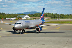 VP-BFE (Skidmarks_1) Tags: vpbfe airbusa320 aeroflot engm norway osl oslogardermoenairport aviation aircraft airport airliners