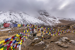 Annapurna sanctuary Nepal (yan08865) Tags: annapurna sanctuary nepal treking mountains nature flags landscapes rocks asia earth heaven himalayas land travel solo sherpa pavlis snow peaks everest prayers traveler khumbu icefall