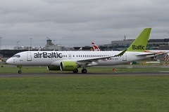 YL-AAS (moloneytomEIDW) Tags: airbus dub dublinairport bombardier eidw a220 cs300 ylaas airbaltic a220300
