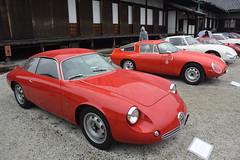 cd'ek19006 (tanayan) Tags: car automobile kyoto japan nikon v3 nijyo 二条城 京都 日本 zagato concorso deleganza alfa romeo italian castle