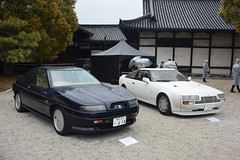 cd'ek19027 (tanayan) Tags: car automobile kyoto japan nikon v3 nijyo 二条城 京都 日本 zagato concorso deleganza castle aston martine nissan