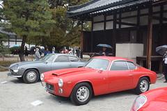 cd'ek19009 (tanayan) Tags: car automobile kyoto japan nikon v3 nijyo 二条城 京都 日本 zagato concorso deleganza italian castle lancia