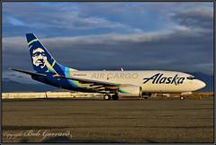 N625AS Alaska Air Cargo (Bob Garrard) Tags: n625as alaska air cargo boeing 737 anc panc