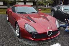 cd'ek19055 (tanayan) Tags: car japan nikon automobile kyoto v3 京都 日本 zagato 二条城 nijyo concorso deleganza italian alfa romeo castle