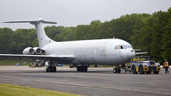 VC-10 (Bernie Condon) Tags: vickers vc10 airliner tanker cargo transport military raf royalairforce jet aircraft plane aviation flying brize brizenorton bruntingthorpe uk coldwarjets planes jets taxi british