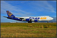 N419MC Atlas Air (Bob Garrard) Tags: n419mc atlas air boeing 74748ef 747 cargo anc panc