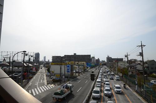 Mejiro-dori at Yahara Intersection 4