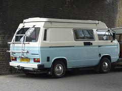 1986 Volkswagen Caravelle Transporter Camper Van (Neil's classics) Tags: vehicle 1986 volkswagen caravelle transporter camper van t3 t25 vw camping motorhome autosleeper motorcaravan rv caravanette kombi mobilehome dormobile